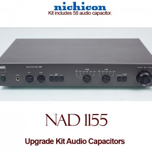 NAD 1155 Upgrade Kit Audio Capacitors