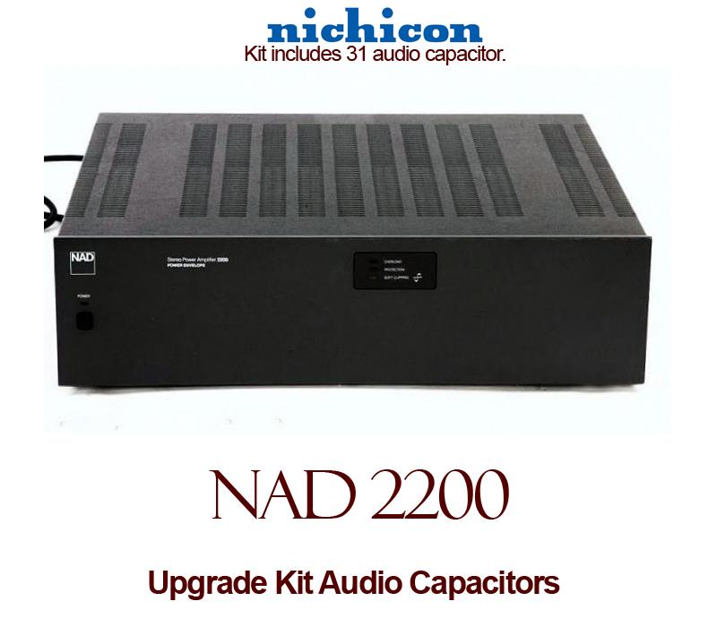 NAD 2200 Upgrade Kit Audio Capacitors