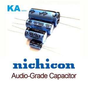 Nichicon KA Series Aluminum Electrolytic Capacitors