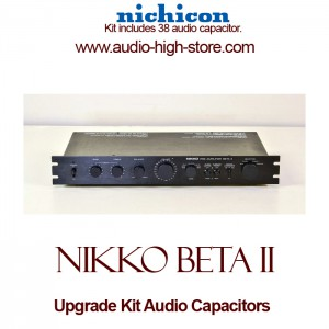 Nikko Beta II Upgrade Kit Audio Capacitors