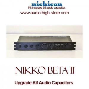 Nikko Beta II Upgrade Kit Audio Capacitors