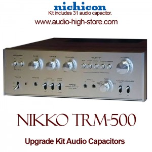 Nikko TRM-500 Upgrade Kit Audio Capacitors