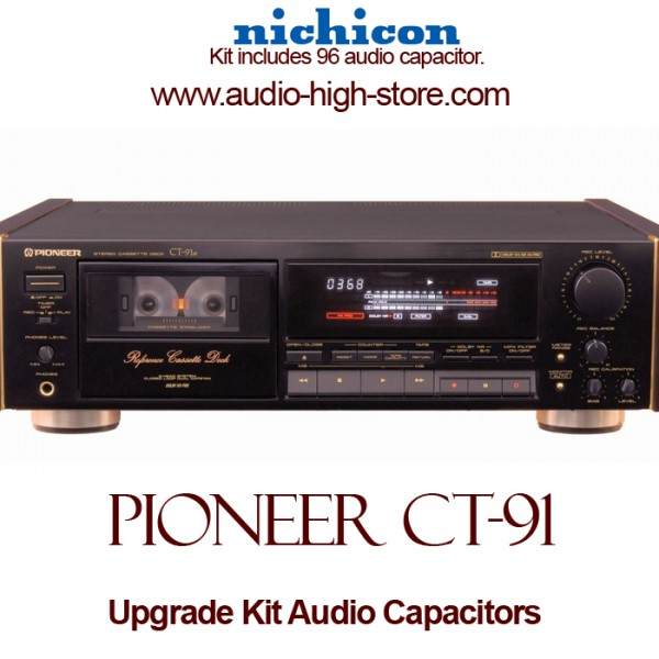 Pioneer CT-91 Upgrade Kit Audio Capacitors
