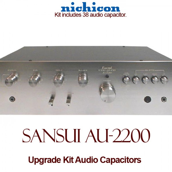 Sansui AU-2200 Upgrade Kit Audio Capacitors