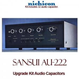 Sansui AU-222 Upgrade Kit Audio Capacitors