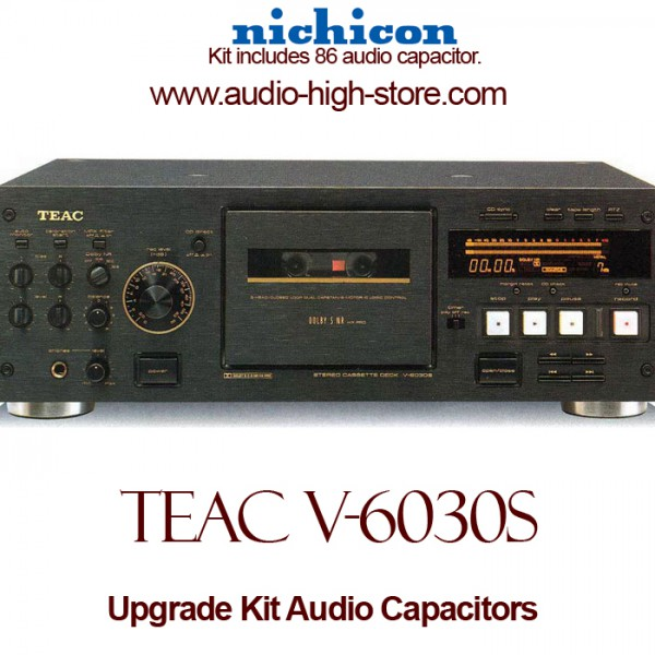 TEAC V-6030S Upgrade Kit Audio Capacitors