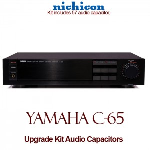 Yamaha C-65 Upgrade Kit Audio Capacitors