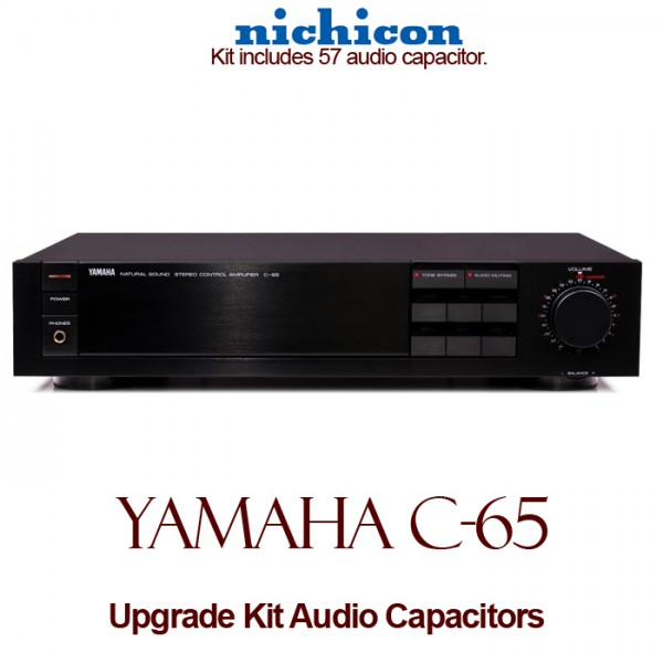 Yamaha C-65 Upgrade Kit Audio Capacitors
