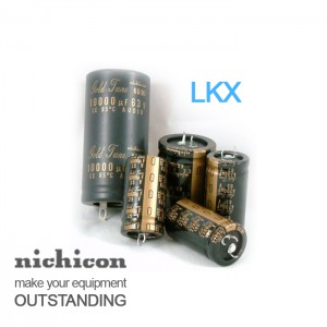Nichicon KX Series Audio Capacitors