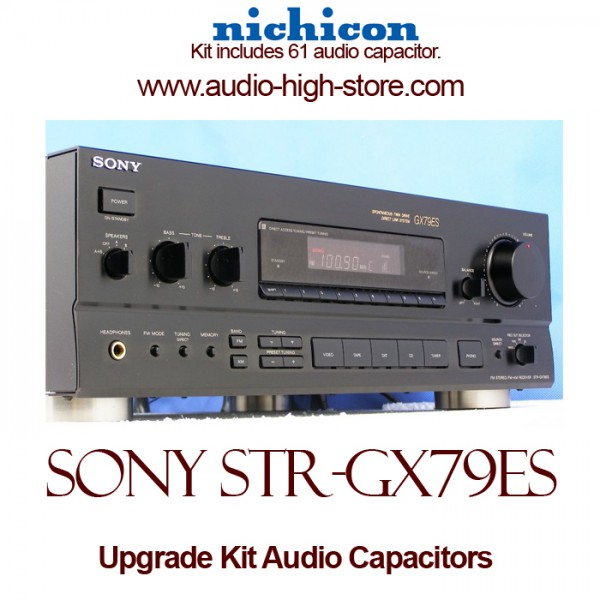 Sony STR-GX79ES Upgrade Kit Audio Capacitors