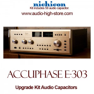 Accuphase E-303 Upgrade Kit Audio Capacitors