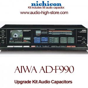 Aiwa AD-F990 Upgrade Kit Audio Capacitors