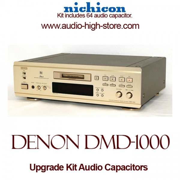 Denon DMD-1000 Upgrade Kit Audio Capacitors