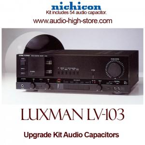 Luxman LV-103 Upgrade Kit Audio Capacitors