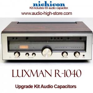Luxman R-1040 Upgrade Kit Audio Capacitors