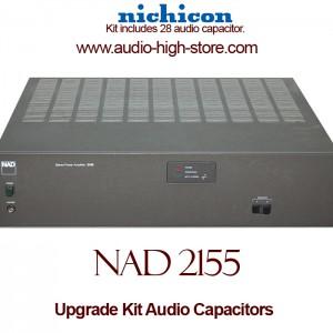 NAD 2155 Upgrade Kit Audio Capacitors