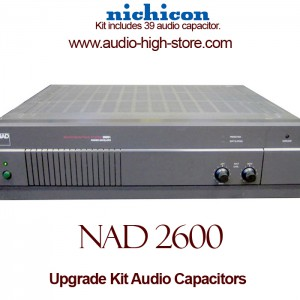 NAD 2600 Upgrade Kit Audio Capacitors