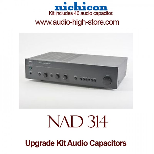 NAD 314 Upgrade Kit Audio Capacitors