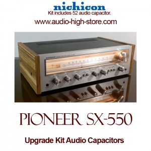 Pioneer SX-550 Upgrade Kit Audio Capacitors