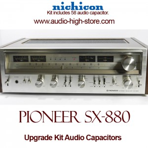 Pioneer SX-880 Upgrade Kit Audio Capacitors