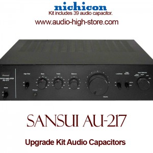 Sansui AU-217 Upgrade Kit Audio Capacitors