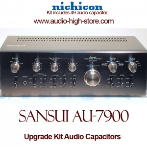 Sansui AU-7900 Upgrade Kit Audio Capacitors