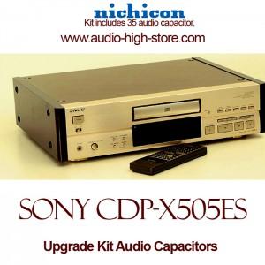 Sony CDP-X505ES Upgrade Kit Audio Capacitors