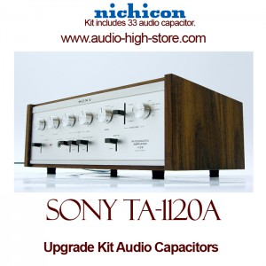 Sony TA-1120A Upgrade Kit Audio Capacitors