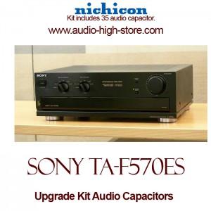 Sony TA-F570ES Upgrade Kit Audio Capacitors