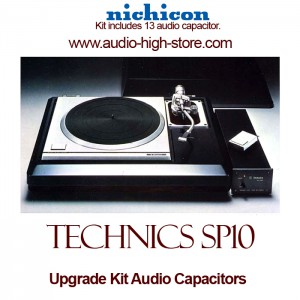 Technics SP10 Upgrade Kit Audio Capacitors