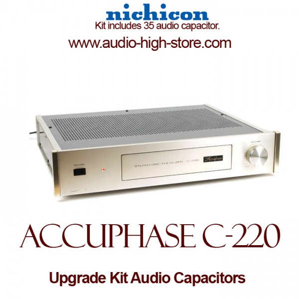Accuphase C-220 Upgrade Kit Audio Capacitors