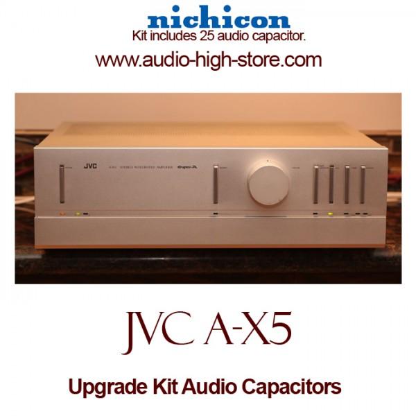 JVC A-X5 Upgrade Kit Audio Capacitors