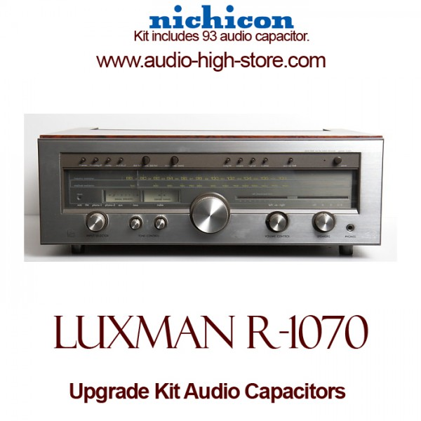 Luxman R-1070 Upgrade Kit Audio Capacitors