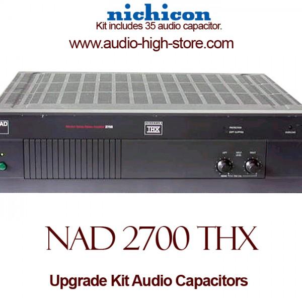 NAD 2700 THX Upgrade Kit Audio Capacitors