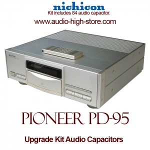 Pioneer PD-95 Upgrade Kit Audio Capacitors
