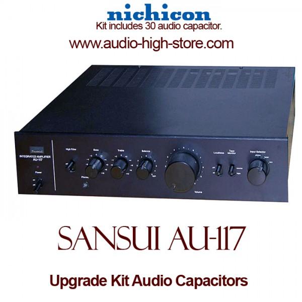 Sansui AU-117 Upgrade Kit Audio Capacitors