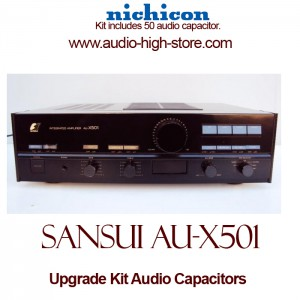 Sansui AU-X501 Upgrade Kit Audio Capacitors
