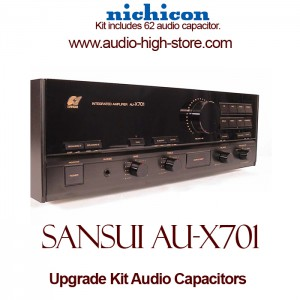 Sansui AU-X701 Upgrade Kit Audio Capacitors