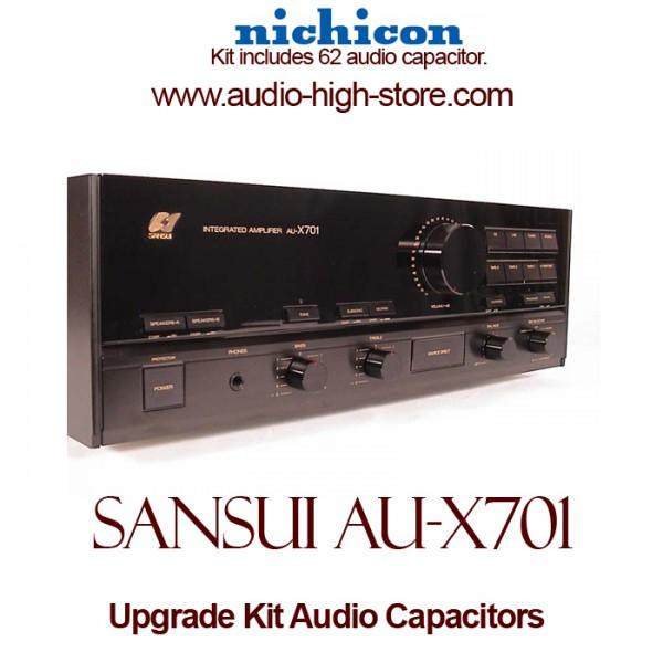 Sansui AU-X701 Upgrade Kit Audio Capacitors
