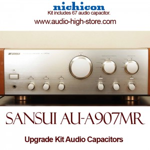Sansui AU-A907MR Upgrade Kit Audio Capacitors