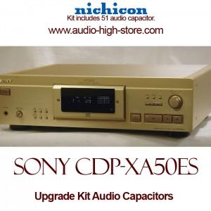 Sony CDP-XA50ES Upgrade Kit Audio Capacitors