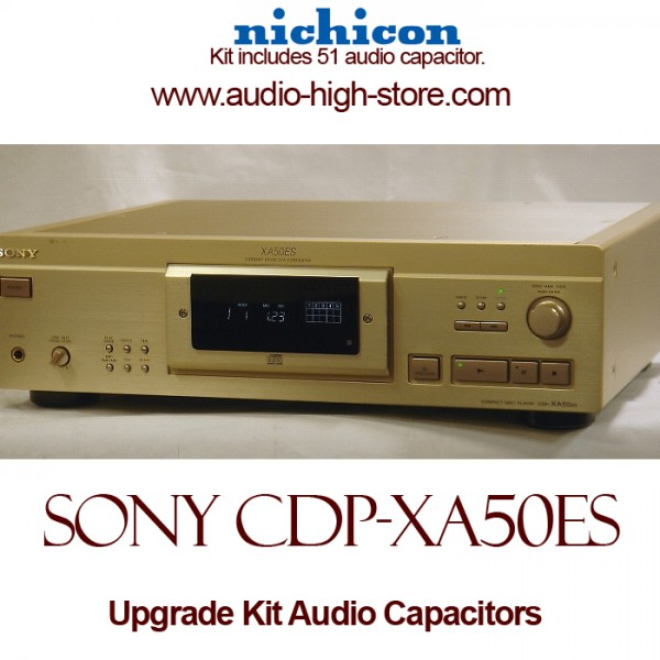 Sony CDP-XA50ES Upgrade Kit Audio Capacitors