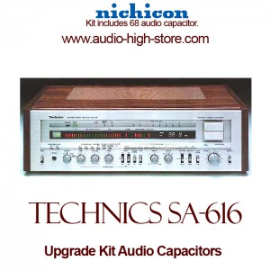 Technics SA-616 Upgrade Kit Audio Capacitors