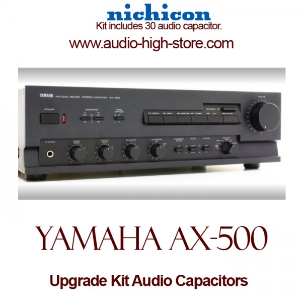 yamaha ax 500 upgrade kit audio capacitors. Black Bedroom Furniture Sets. Home Design Ideas