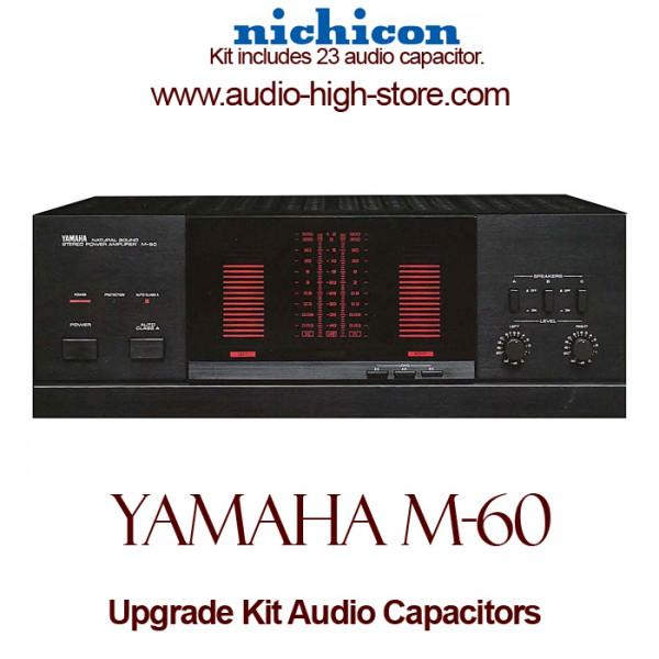 Yamaha M-60 Upgrade Kit Audio Capacitors