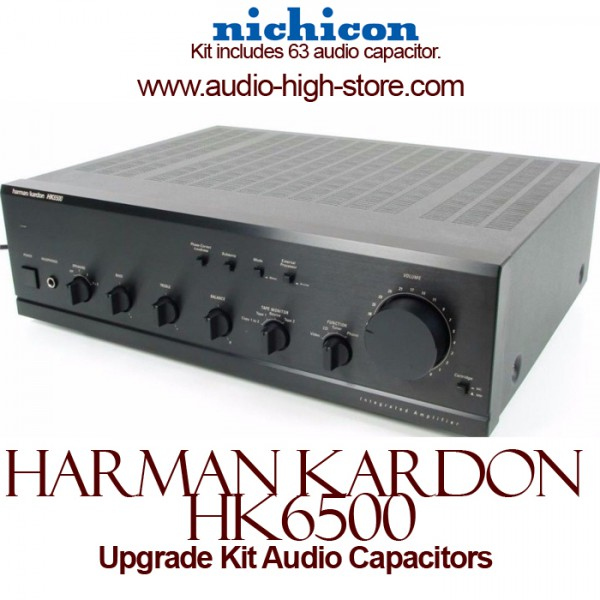 Harman Kardon HK6500 Upgrade Kit Audio Capacitors