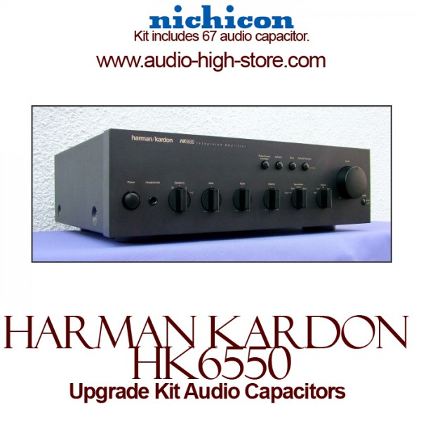 Harman Kardon HK6550 Upgrade Kit Audio Capacitors