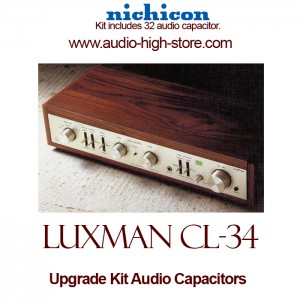 Luxman CL-34 Upgrade Kit Audio Capacitors