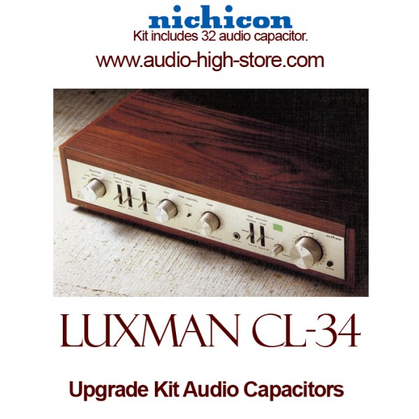 Luxman CL-34 Upgrade Kit Audio Capacitors