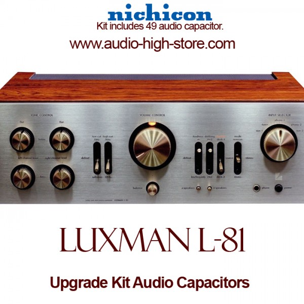Luxman L-81 Upgrade Kit Audio Capacitors